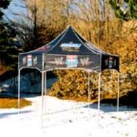 KD Hexagon 81 Pop Up Canopy