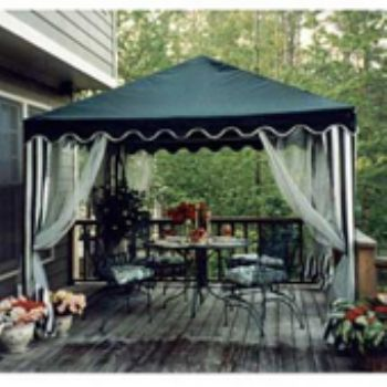 10 X 10 GARDEN PARTY CANOPY GREEN