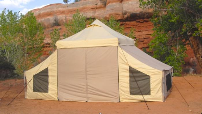 Undercover Apex Base - Camp Tent with Sleepers Pop-Up