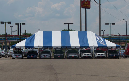 30' X 120' Celina Classic Pole Event Party Tent