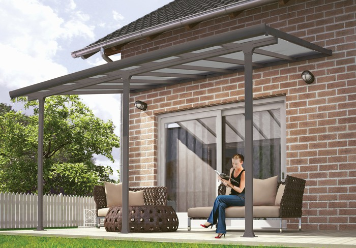 10 X 28 Feria 4200 Patio Cover Canopy W Polycarbonate Panels