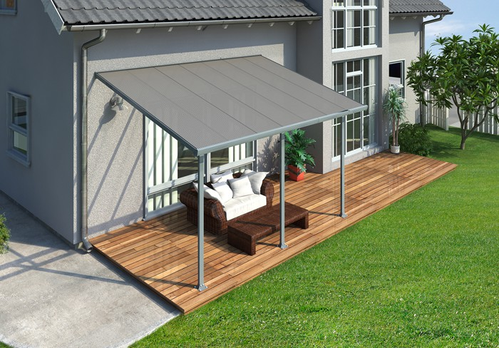 10 X 30 Feria 4200 Patio Cover Canopy W Polycarbonate Panels