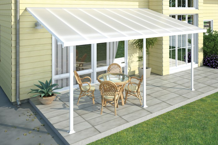 10' X 20' Feria 4200 Patio Cover Canopy w/Polycarbonate Panels