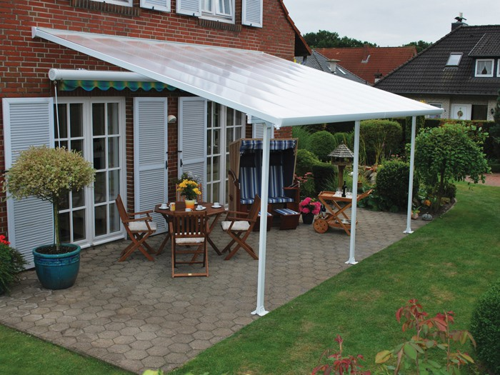10' X 34' Feria 4200 Patio Cover Canopy w/Polycarbonate panels