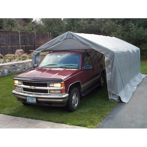 12' X 20' X 08' One Car House Style Garage