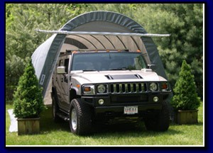 Round Style SUV/Boat Garage 14X24X10 Replacement Cover