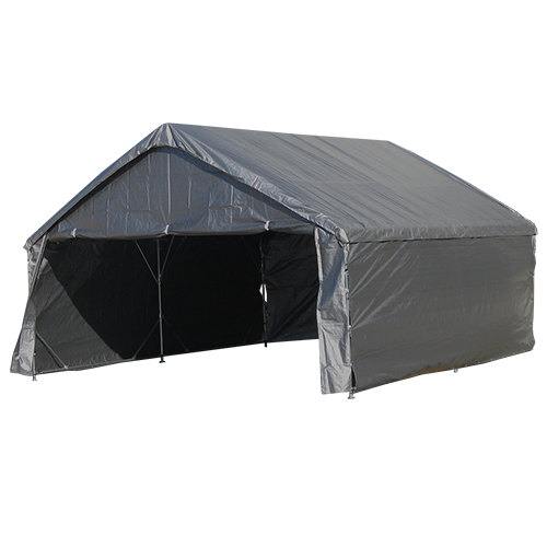 "18' X 50' / 1 5/8"" Reinforced Canopy Tent with Enclosure"