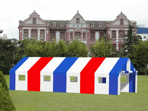 """Commercial Duty 18' X 40' / 1 5/8"""" Dia. Frame Luxury Enclosed Party Tent"""