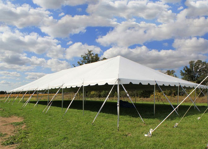 40' X 140' Celina Classic Pole Event Party Tent