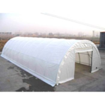 "30'X65'X15' / 2 3/8"" Commercial Round Building Canopy"