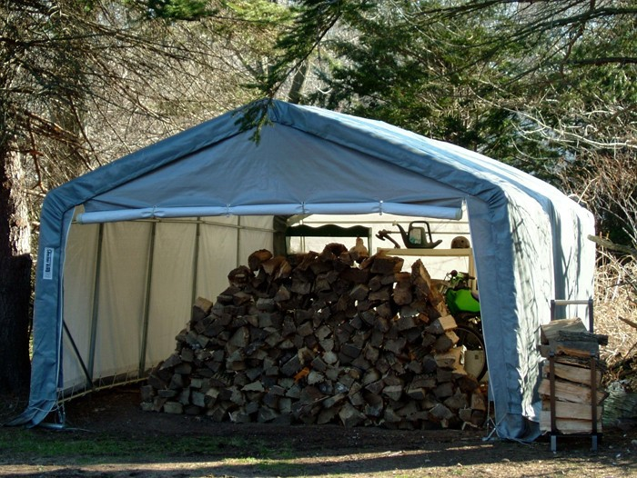 12' X 12' X 08' House Style Storage Shed