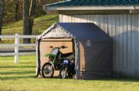 "6' X 6' X 6'6"" Portable Storage Shed"