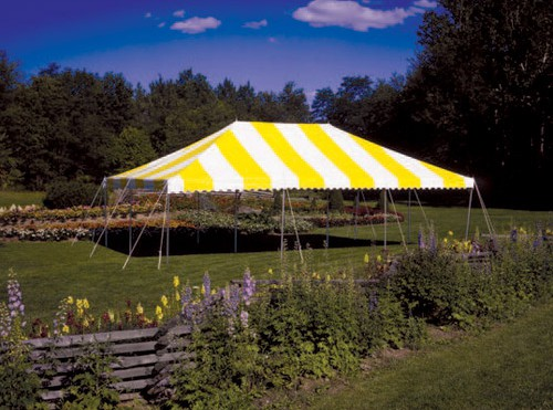 20ft X 50ft - Eureka Traditional Party Tent with Solid Top