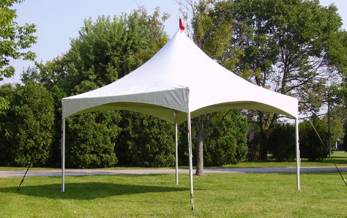 "Celina 20' X 20' Pinnacle / 2"" Dia. Frame Peak-Top Party Tent"