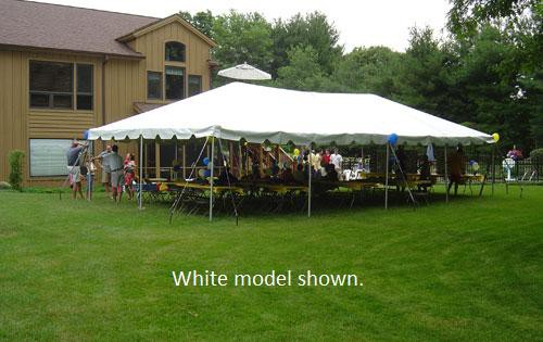 """Celina Commercial Duty 20'X40' / 2"""" Dia. Classic Frame Party Tent with Aluminum Poles"""