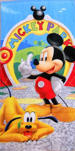 Mickey Mouse Character Beach Towel