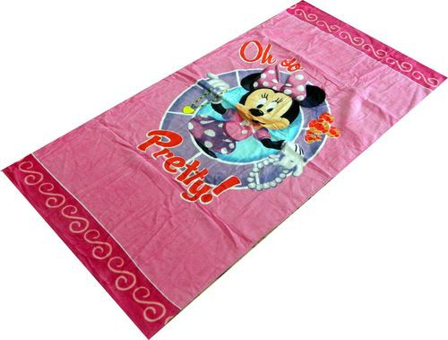 Minnie Mouse Character Beach Towel