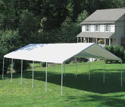 "28' X 60' / 2"" Commercial Duty Outdoor Canopy"