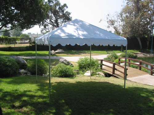 """Commercial Duty 12' X 12' / 1 5/8"""" Dia. Frame Luxury Enclosed Event Party Tent"""