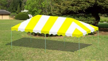 "Commercial Duty 12' X 24' / 1 5/8"" Dia. Frame Luxury Enclosed Event Party Tent"