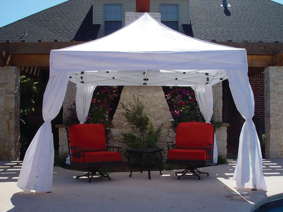 King Canopy 10u0027 X 10u0027 DuraLite with 4 Sidewalls Package Deal & Canopy 10u0027 X 10u0027 DuraLite with 4 Sidewalls Package Deal