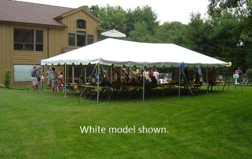 """Celina Commercial Duty 30' X 50' / 2"""" Dia. Classic Frame Party Tent with Aluminum Poles"""