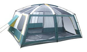 Wildcat Mountain 3 Room Camping Tent - 12' X 15'