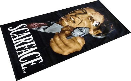Scarface Respect Licensed Beach Towel