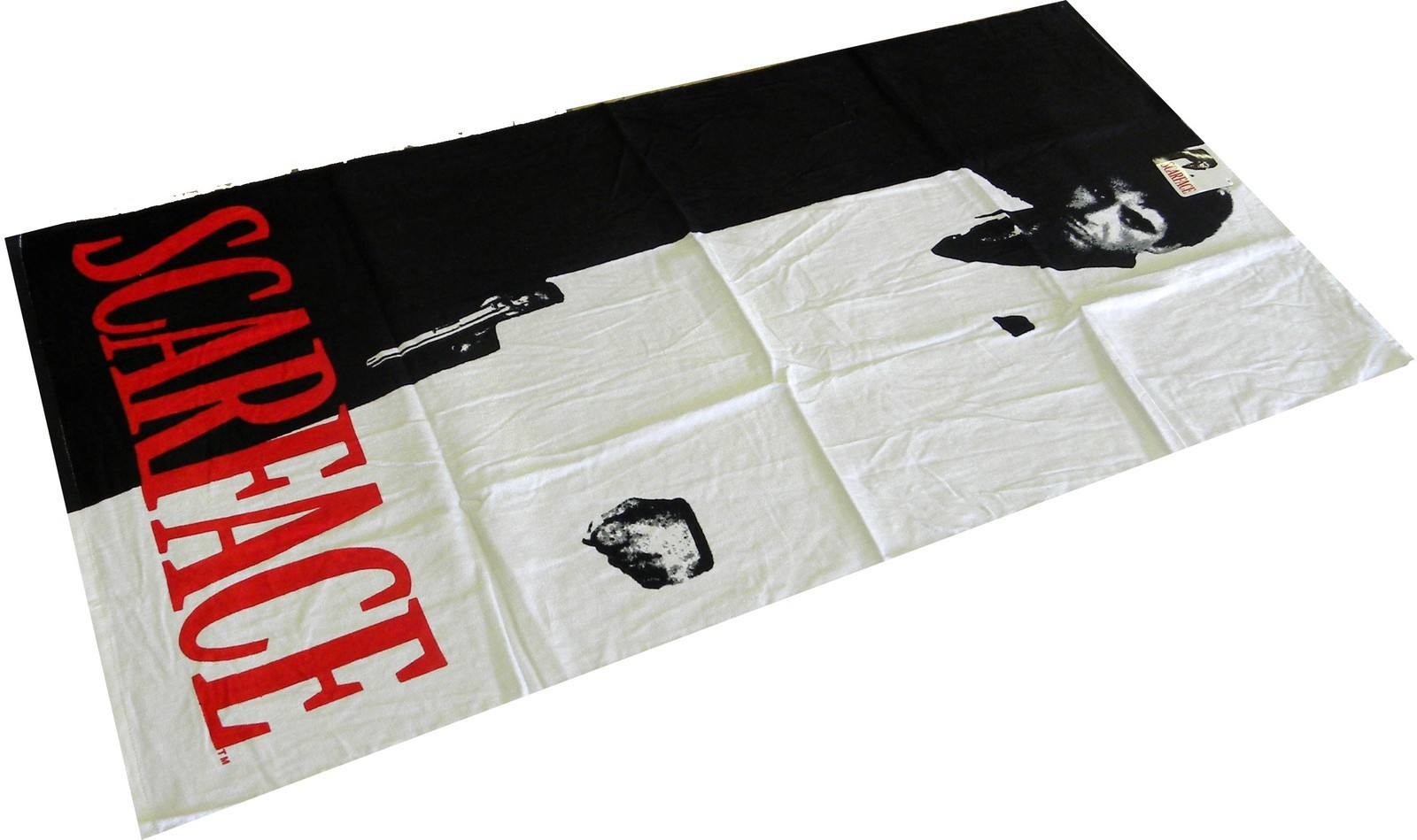 Scarface Silhouette Licensed Beach Towel
