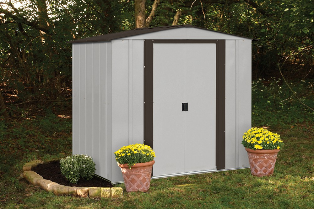 Newburgh 6 ft. X 5 ft. Steel Storage Shed