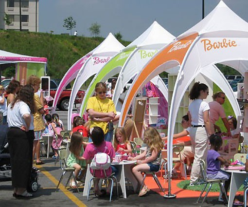 KD 10' X 10' OptiDome Party Tent