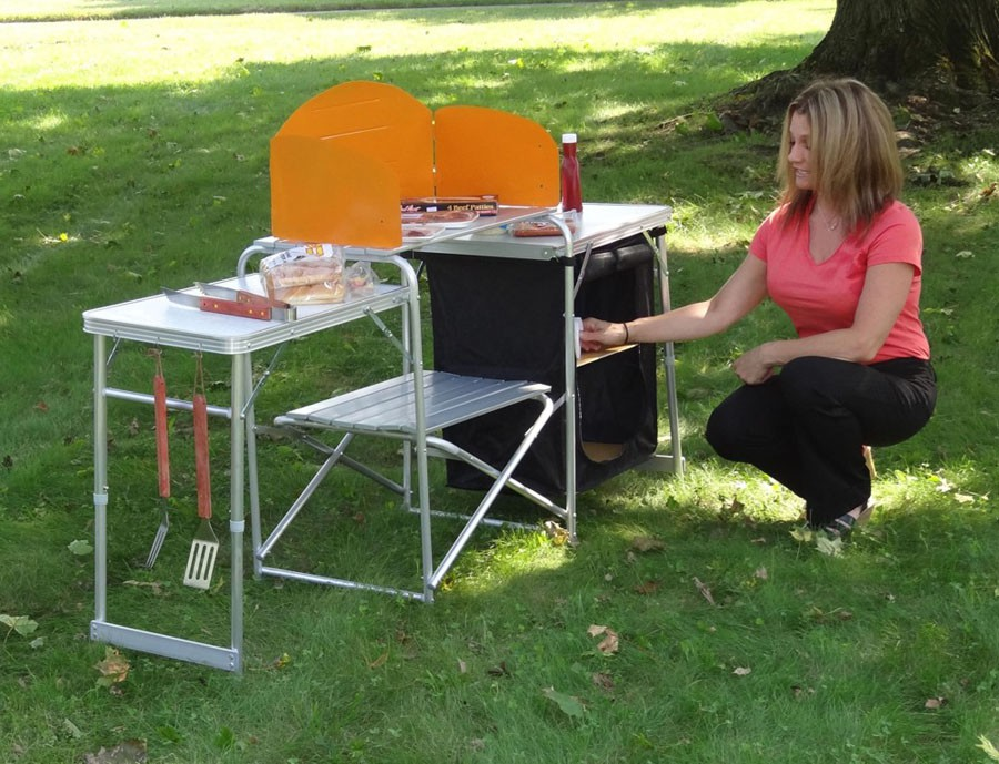 Pack N Go Outdoor Cooking Prep Station
