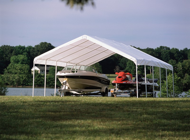 "18' X 30' / 2"" Commercial Valanced Canopy"