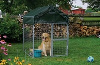 4' X 4' Modular Dog Kennel