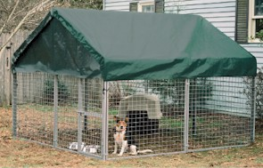 8' X 8' Modular Dog Kennel