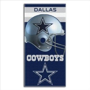 Cowboys Helmet NFL Sports Beach Towel