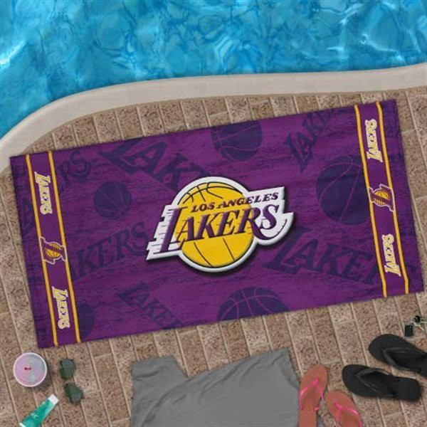 Lakers New NBA Sports Beach Towel