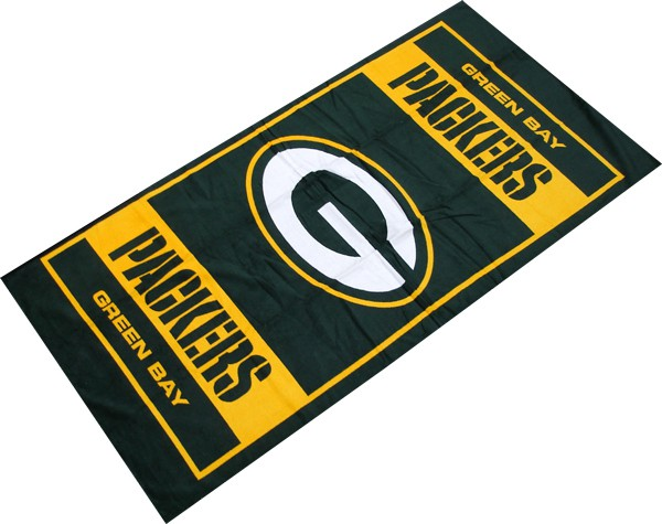 Packers Square NFL Sports Beach Towel