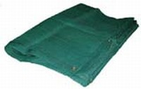 16 X 20 Heavy Duty Green Mesh Tarp