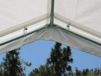 10 X 10 Canopy Valance Cover (White)