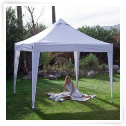 Undercover 10' X 10' Aluminium Pop-Up with White Top (Refurbished)