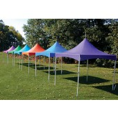 "Eureka Vista 10' X 10' / 2"" Dia. Frame Peak-Top Party Tent"