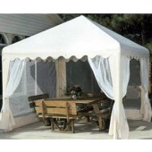 10 X 10 GARDEN PARTY CANOPY COVER (ALMOND)