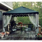 10 X 10 GARDEN PARTY CANOPY CAVER(GREEN)