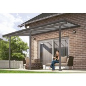 10' X 28' Feria 4200 Patio Cover Canopy w/Polycarbonate Panels