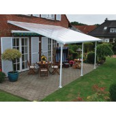 10' X 24' Feria 4200 Patio Cover Canopy w/Polycarbonate Panels