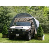 14' X 24' X 10' Round Style SUV/Boat Garage