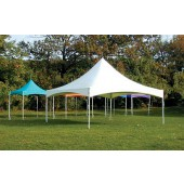"Eureka Vista 15' X 15' / 2"" Dia. Frame Peak-Top Party Tent"