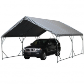 "18' X 20' / 1 5/8"" Reinforced Canopy Tent with Valance Top"