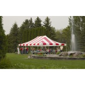 20ft X 20ft - Eureka Traditional Party Canopy with Translucent Top